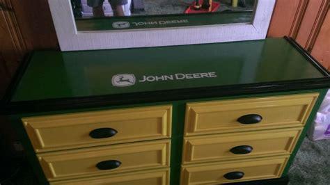John Deere Dresser Top View  Bedroom Furniture