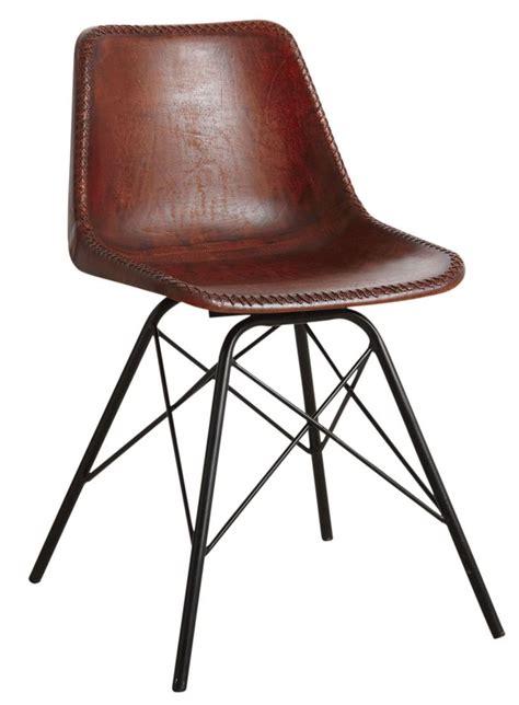 chaise cuir marron les 25 meilleures idées de la catégorie chaises en cuir