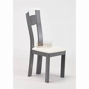 Chaise de salle a manger moderne bois massif camilla for Meuble salle À manger avec chaise de salle a manger en bois