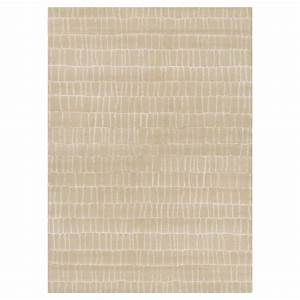 tapis en laine angelo beige bali noue main 170x240 With tapis laine beige
