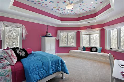 Uniquely Decorated Girls Bedrooms