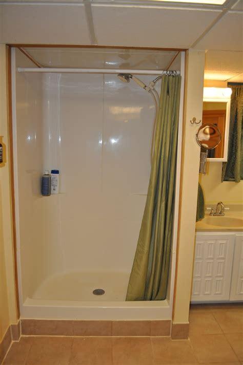 white bathroom ideas prefab shower stall unit best prefab shower stall ideas