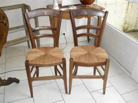 chaises anciennes simple chaise ancienne bois et paille palmette source