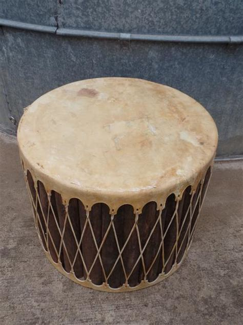 mexican drum side table yee haw ranch outfitters