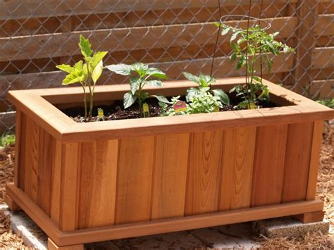 how to make wooden planter boxes waterproof wilson