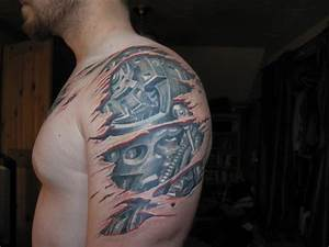 Biomechanical Shoulder and arm – Tattoo Picture at ...