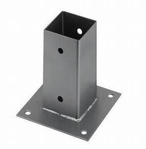 Support De Poteau : des portails droits en aluminium pas cher sur mesure ~ Melissatoandfro.com Idées de Décoration