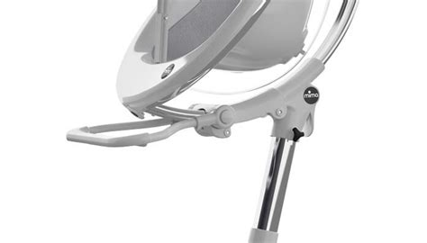 mima moon 2g high chair white fuschia