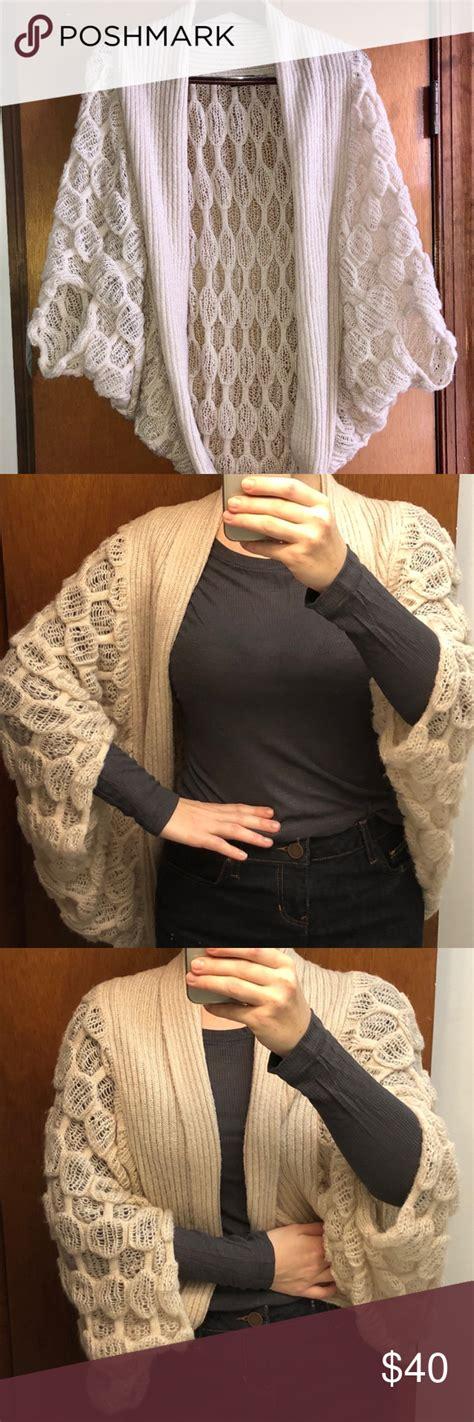 Stylish & Warm Cocoon Sweater/Shrug | Knitting gloves ...