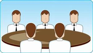 Business Meeting clip art Free vector in Open office
