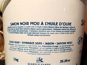 Laver Chien Savon Noir : savon noir p te l 39 huile d 39 olive ~ Melissatoandfro.com Idées de Décoration