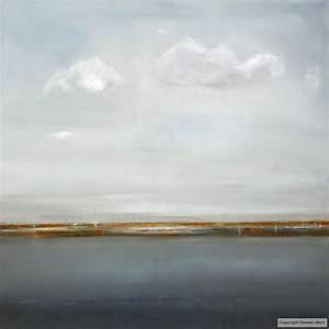 tableau peinture contemporaine paysage abstrait espace With couleur gris bleu peinture 4 tableau peinture contemporaine paysage minimaliste