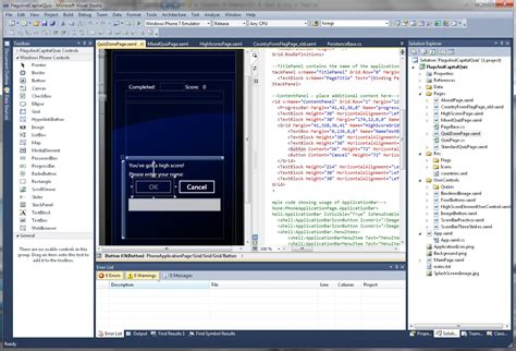 android ide android vs wp7 app development windows central