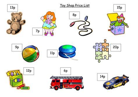 toy shop price list    crazy teaching resources