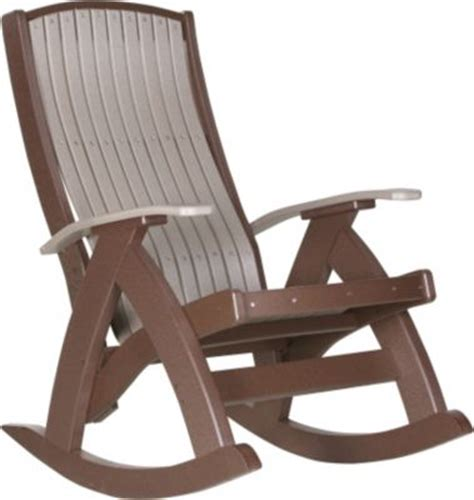 amish outdoors comfort outdoor rocking chair homemakers