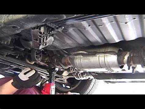 Mazda Header Downpipe Exhaust Manifold Removal