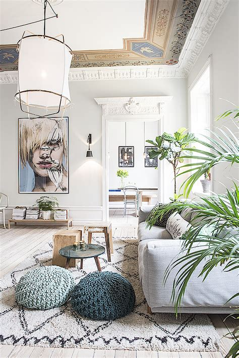 Scandinavian Parisian Apartments In White by Decordemon A Magnificent Scandinavian Apartment