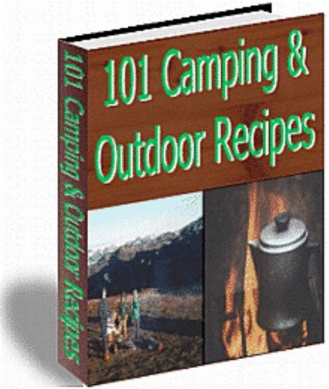 101 Camping & Outdoor Recipes  Ebook  Plus Mrr  Only 50