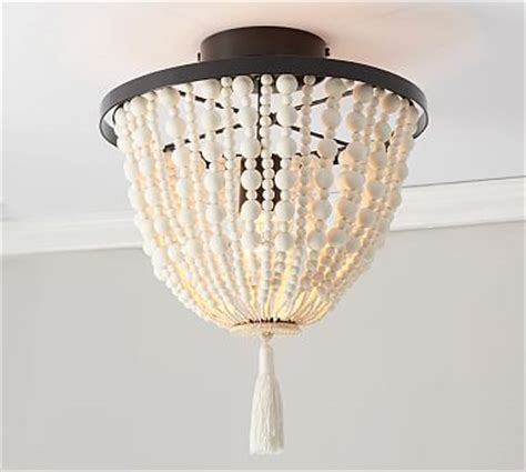 flushmount ceiling lighting pottery barn