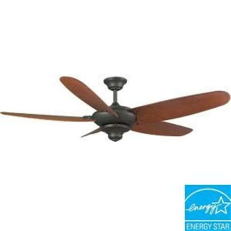 Altura 60 Ceiling Fan Light Kit by Hton Bay Altura 60 In Outdoor Rubbed Bronze Energy