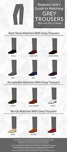 Socks With Light Grey Suit How To Pair Grey Trousers With Different Shoe Colors