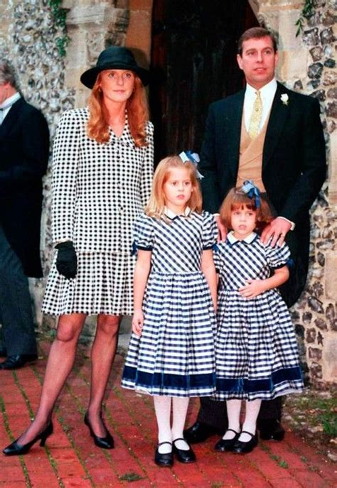 Prince Andrew and Dutchess of York with daughters Eugenia ...