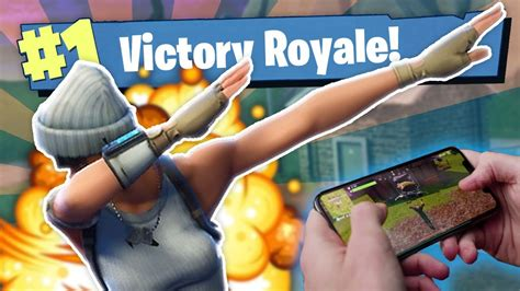 worlds  fortnite mobile player youtube