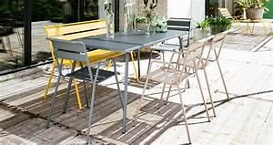 Table De Jardin Fermob : banc monceau banc design mobilier de jardin ~ Dailycaller-alerts.com Idées de Décoration