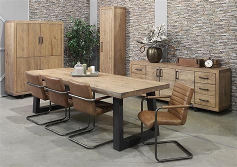 coin canapé acheter votre table style atelier bois et métal chez simeuble