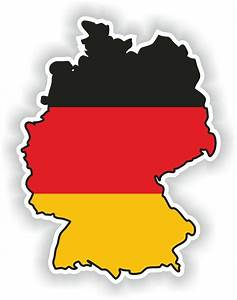 Eby De : 1x sticker germany silhouette bumper decal map flag ebay ~ Orissabook.com Haus und Dekorationen