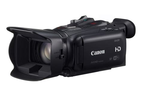 Canon Xa20 And Xa25 Hd Camcorders Feature 24p60p Recording