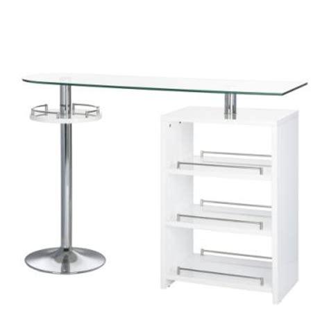 table de bar en verre table de bar en verre