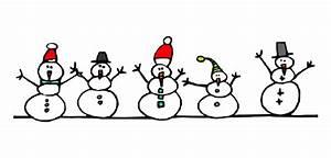 Snowman Clipart Border - ClipartXtras