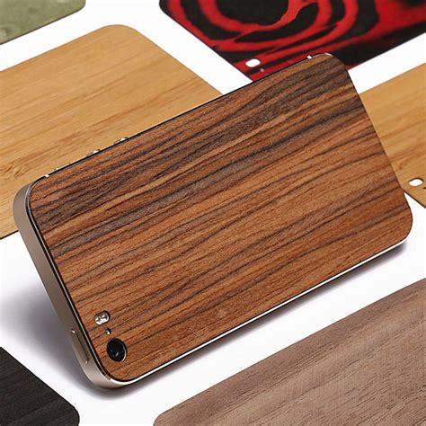sticker meuble cuisine aliexpress com buy wood for iphone 5 5s wooden