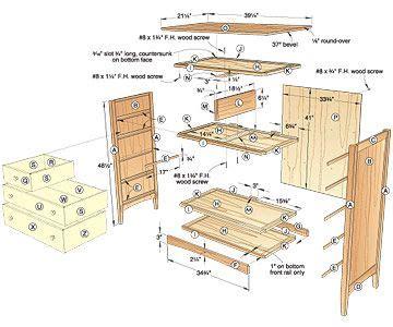 plans  dresser  woodworking plans  projects