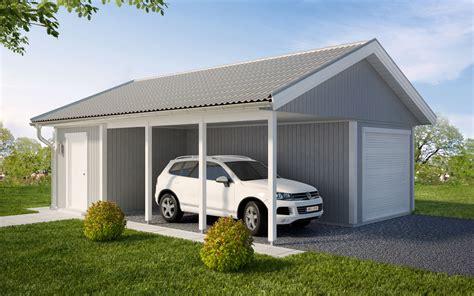 Garagecarport Gc54 Västkustvillan