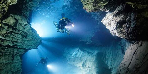 technical and cave diving in the yucatan and riviera maya