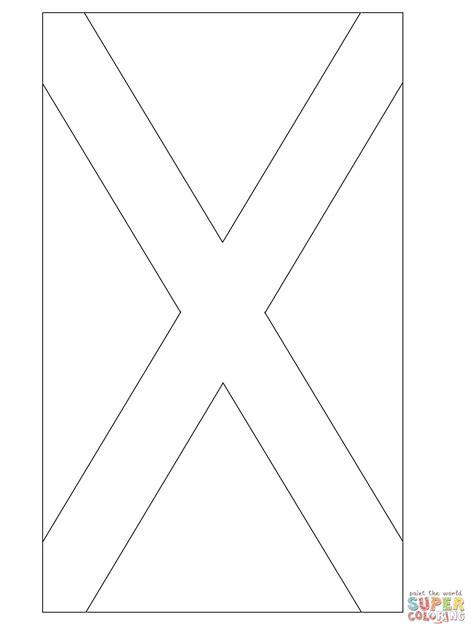 ausmalbild schottische flagge ausmalbilder kostenlos