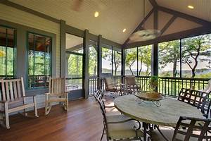 tongue and groove vaulted ceiling porch traditional with