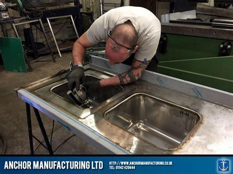 Cannon Hall Farm: Custom Dishwashing Tables fabrication