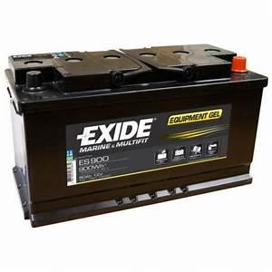 Batterie Exide Gel : nos batteries gel exide es900 12v 80ah ~ Medecine-chirurgie-esthetiques.com Avis de Voitures