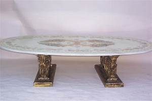 faux marble with decorative top coffee table for sale With antique marble coffee table for sale