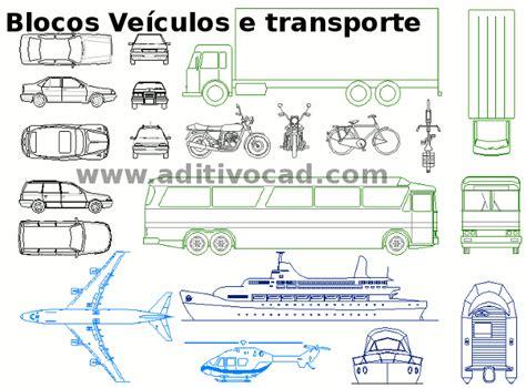 Blocos Cad/dwg Automóveis Para Autocad
