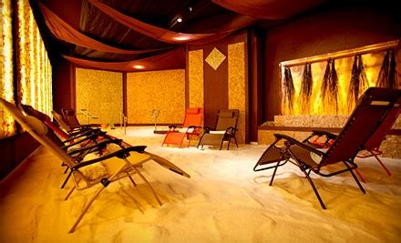 salt room therapy sessions   groupon