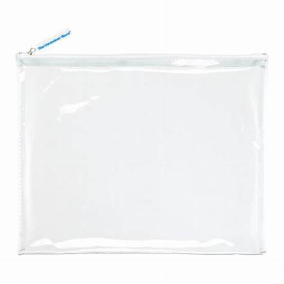 Pouch Clear Zippered Roll