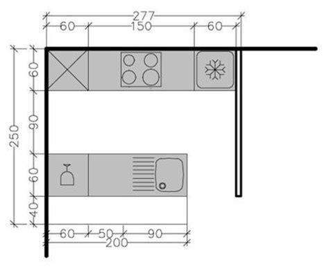 plan d une cuisine de restaurant 8 plans de cuisine parallèle à différentes solutions possibles côté maison