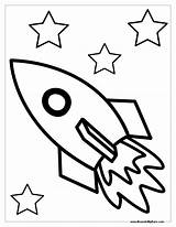 Rocket Coloring Space Ship Pages Drawing Spaceship Rockets Printable Outline Rocketship Sheet Clipart Nasa Sheets Simple Template Colouring Houston Ships sketch template