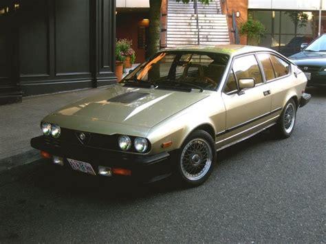 Old Parked Cars 1982 Alfa Romeo Gtv6
