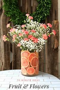 DIY Fruit Floral Arrangement Refresh Restyle