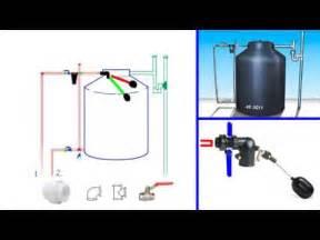 como instalar un tanque de agua tipo tinaco youtube